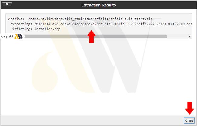 extract file - آموزش نصب بسته نصبی قالب وردپرس یا Quickstart + ویدئوی آموزشی گام به گام