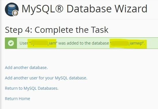 مرحله آخر ساخت پایگاه داده