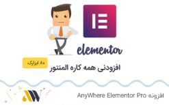 افزونه AnyWhere Elementor