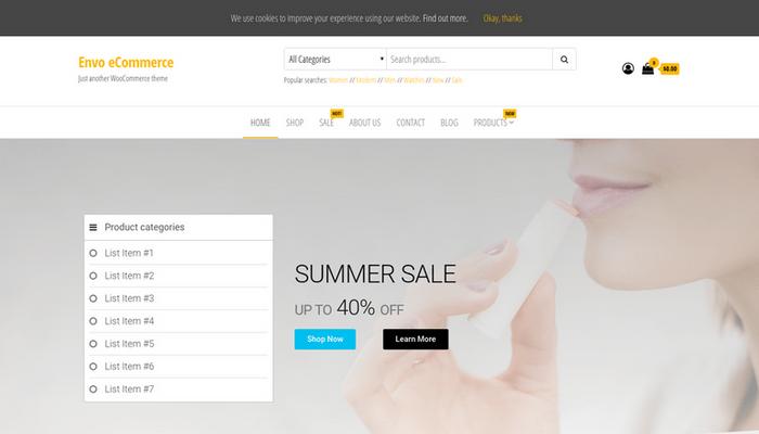 desktop envo ecommerce v2 - قالب وردپرس فروشگاهی انوو envo + (کاملا رایگان) همراه با بسته نصبی