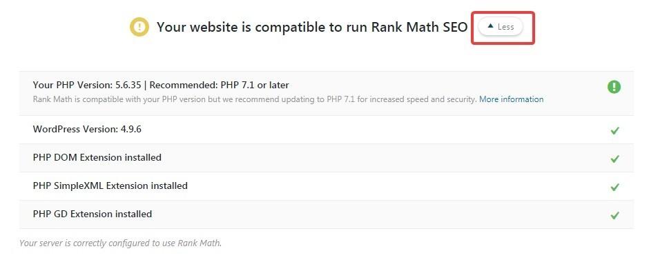 more - بهترین آموزش 0 تا 100 افزونه Rank Math + همراه با ویدئوی آموزشی