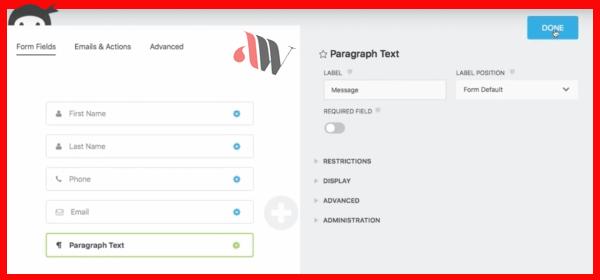 فرم ساز1 - افزونه Ninja Forms: بهترین افزونه طراحی فرم های چندمنظوره در وردپرس + آموزش کامل