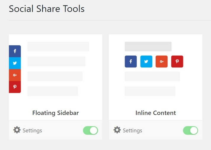 Sidebar or Online - 3 روش ساده برای افزودن دکمه های اشتراک گذاری به وردپرس