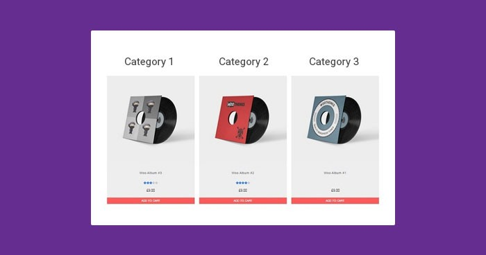 WooCommerce product category