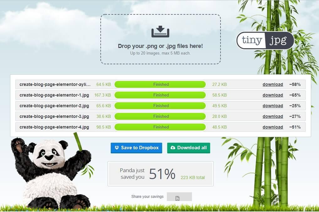 بهینه کردن تصاویر سایت وردپرس