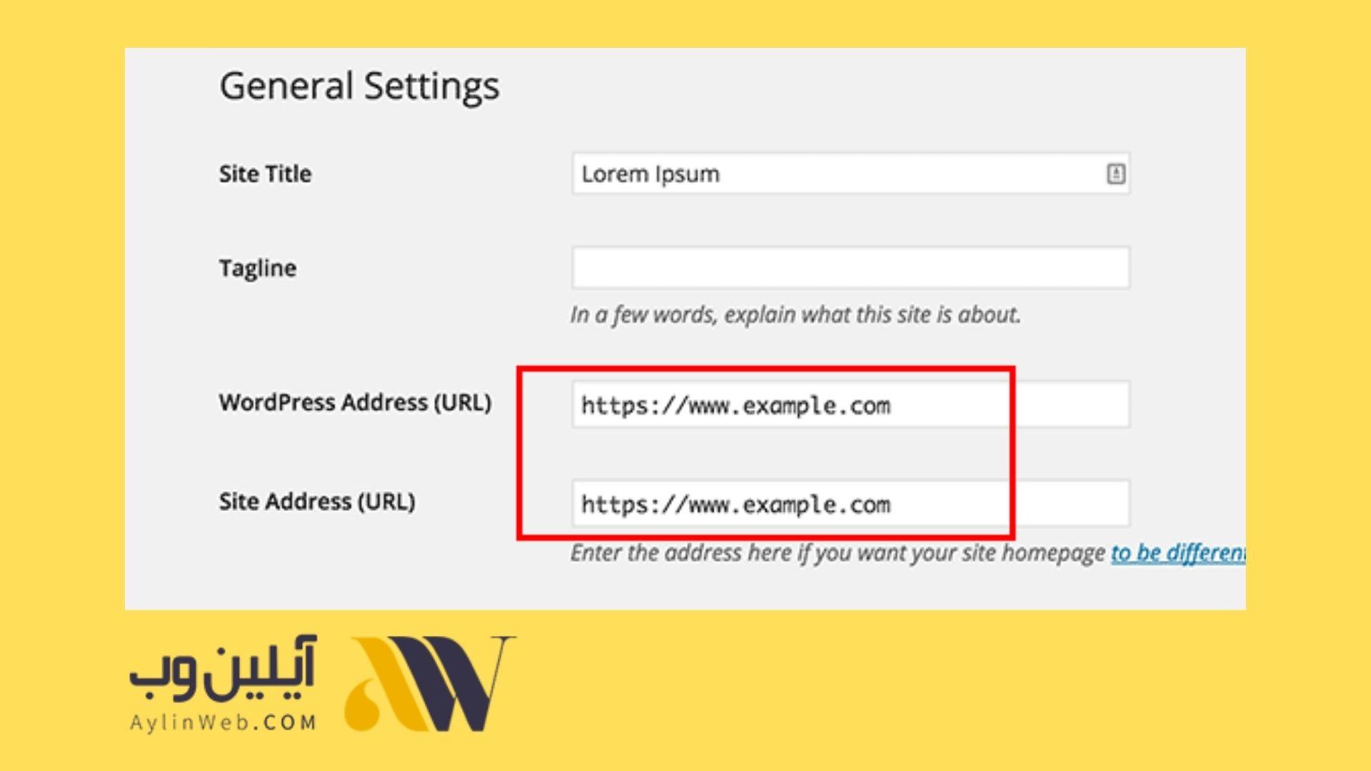 تنظیمات وردپرس HTTPS