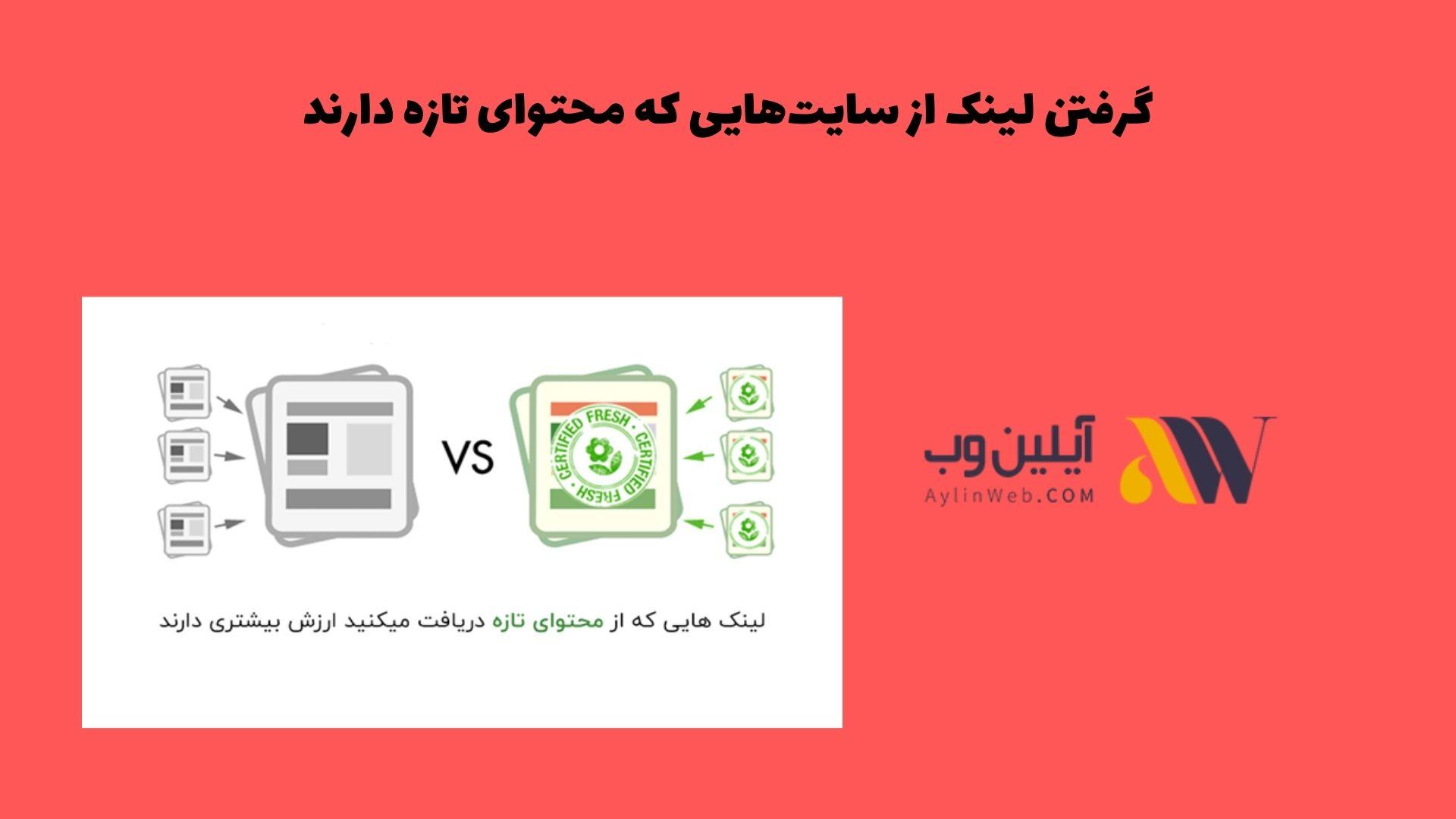 گرفتن لینک از سایتهایی که محتوای تازه دارند