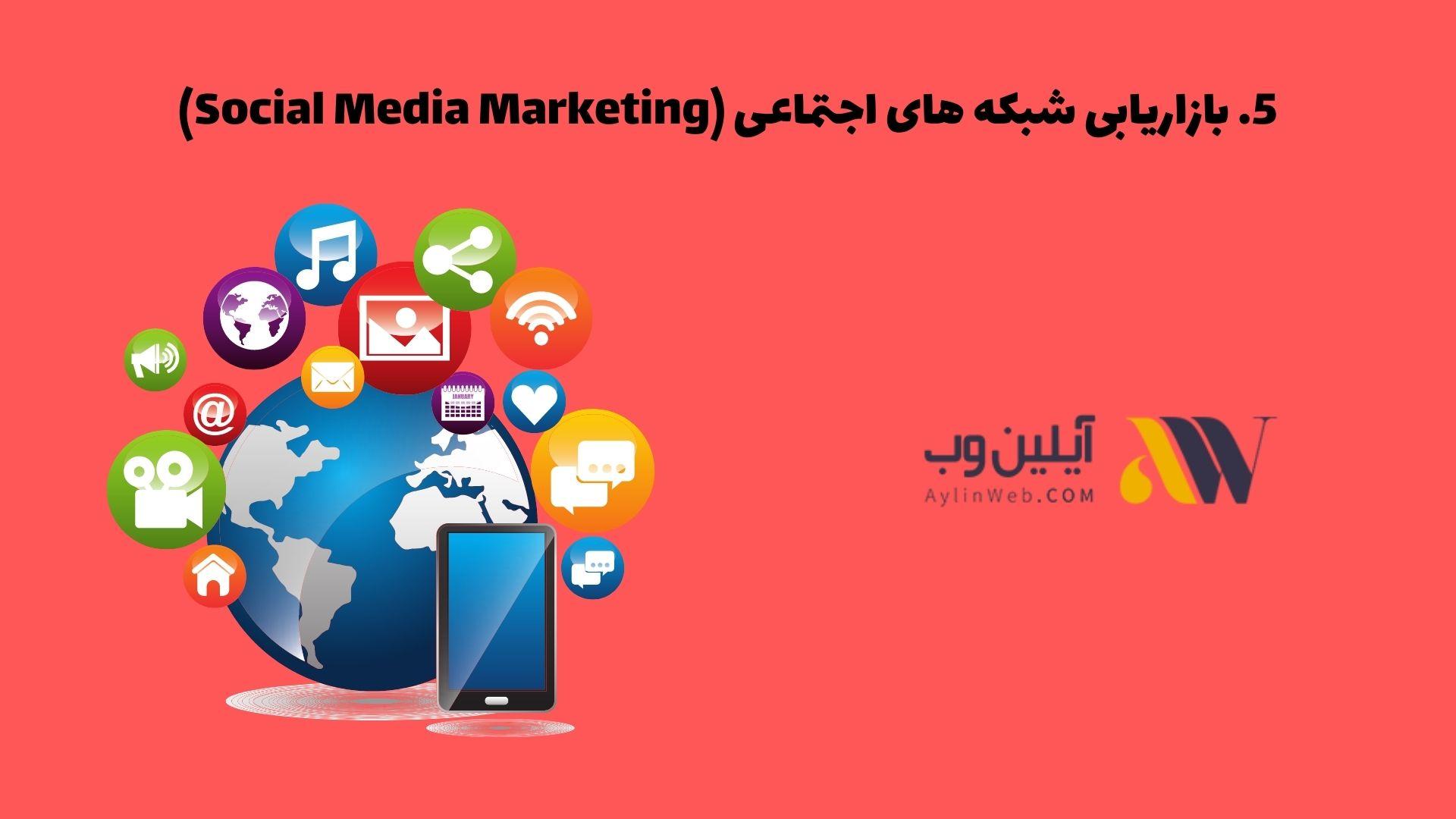 بازاریابی شبکه های اجتماعی (Social Media Marketing)